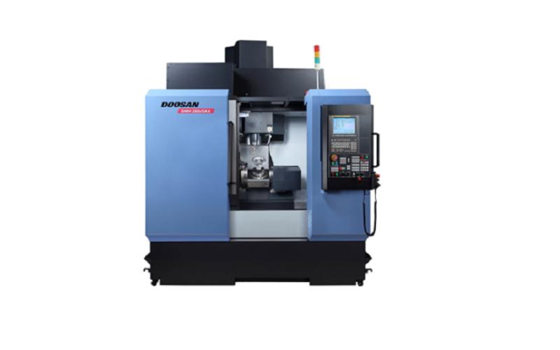 Doosan Introduces an affordable, compact five-axis VMC