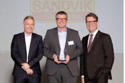 Sandvik Coromant wins Volvo Cars Award of Excellence