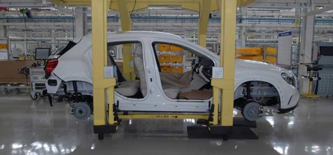 Mercedes-Benz India commences its new production facility with the roll out of the GLA