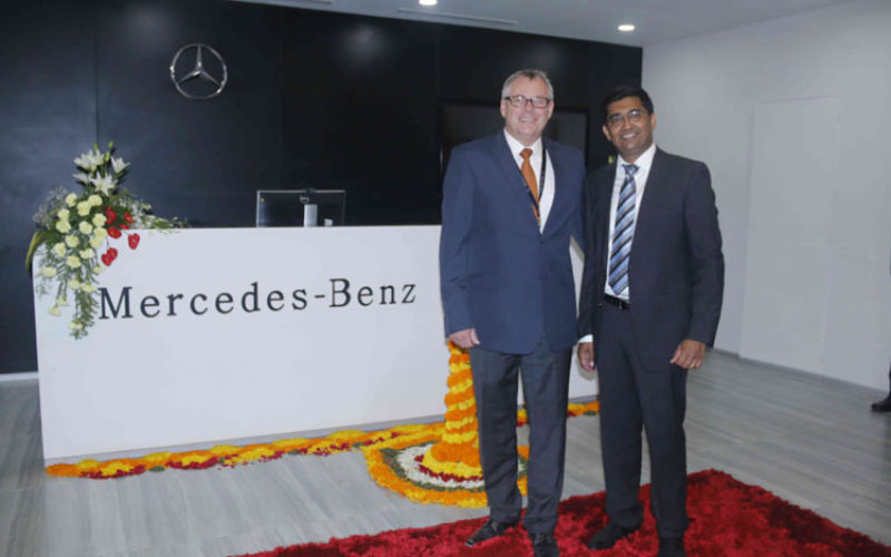 Mercedes-Benz Research and Development India (MBRDI) opens a new facility at Pune