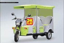 OK Play India forays into e-rickshaw segment with E-Raaja