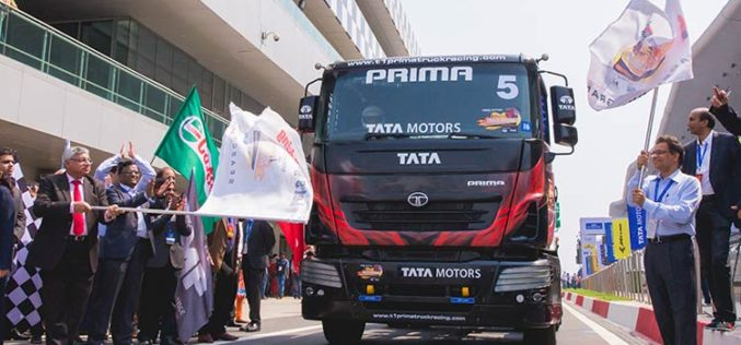 Jagat Singh and Nagarjuna A win the first ever Indian TRUCK RACE