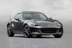 Mazda starts production of the mazda MX-5 RF