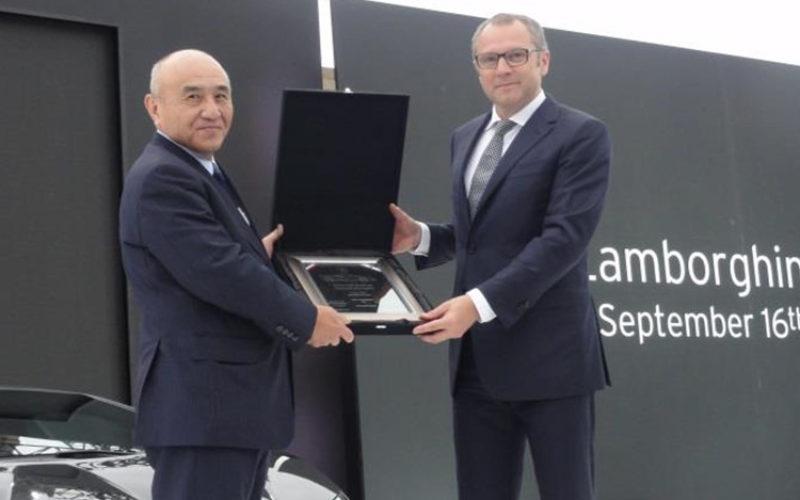 Lamborghini and Mitsubishi Rayon to jointly develop automotive material
