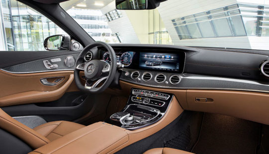 Wireless Connectivity for E-Class Drivers: Smart Device Terminal from Continental in Production for the First Time