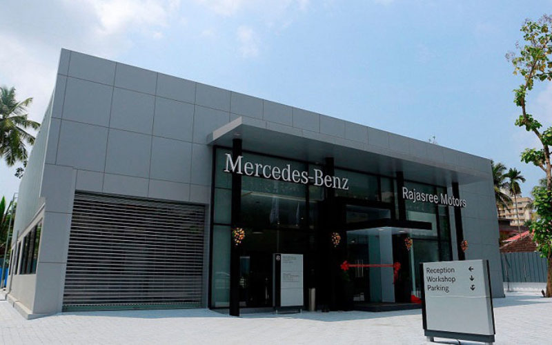 Mercedes-Benz India inaugurates an exclusive, state-of-art Body & Paint center at Kochi