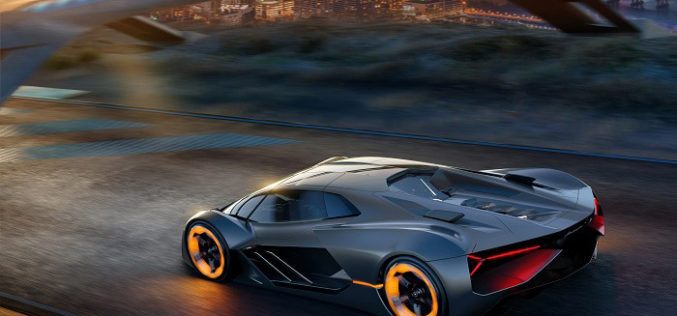 Lamborghini partners with MIT for future electric super sports car