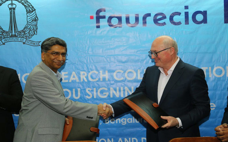 Faurecia collabrates with Indian Institute of Science (IISc) for mobility solutions