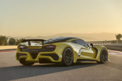 "World's fastest car ""Hennessey Venom F5"" unveiled at SEMA 2017"