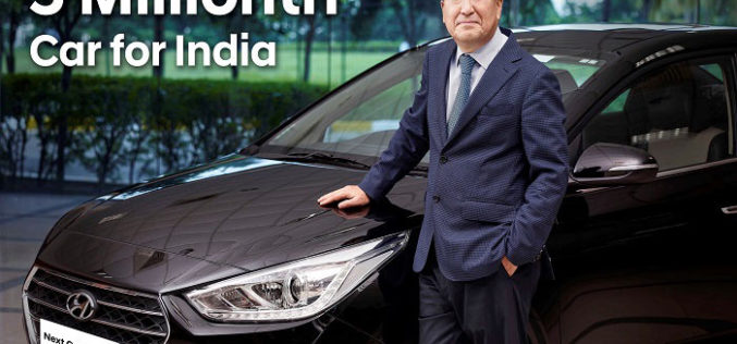 Hyundai Marks 5 Millionth Car Milestone With The 'Next Gen VERNA' for Domestic Market