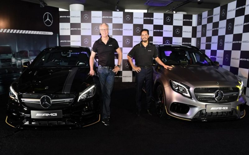 Mercedes-Benz launches the racy Mercedes-AMG CLA 45 and GLA 45 4MATIC
