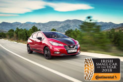 Nissan Micra crowned Irish Small Car of the Year 2018