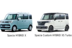 Suzuki launches the All-new Spacia and Spacia Custom Minicars in Japan