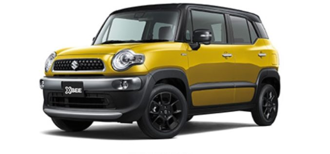 Suzuki Launches the New XBEE in Japan