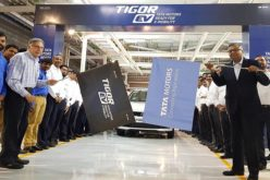 Tata Motors flags off the Tigor EVs from Sanand plant