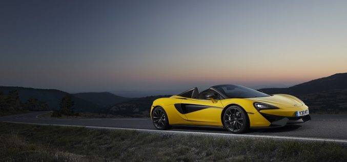 McLaren 570S Spider and McLaren 720S make First Appearance at the Brussels Motor Show