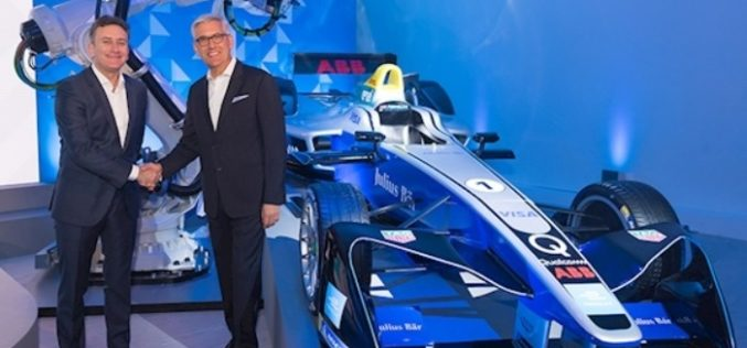 ABB and Formula E partner to Write the Future of E-mobility