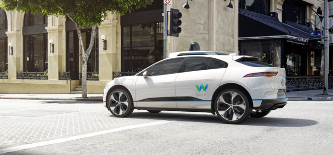 Waymo and Jaguar Land Rover Announce Long-term Partnership, Beginning with Self-Driving Jaguar I-Pace