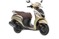 Yamaha glamorises its Fascino range with new color Models